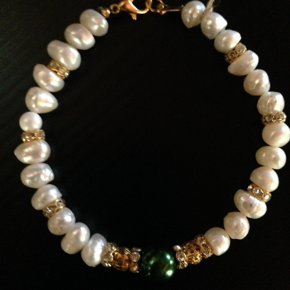 Hippie Chic Designs Jewelry Handmade Pearl And Czech Crystal